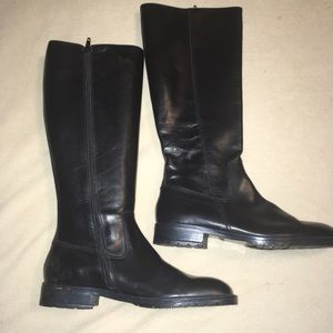 J Crew Leather tall Boots size 8 NWOT riding